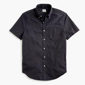 New J Crew Secret Wash Garment Dyed Poplin Shirt